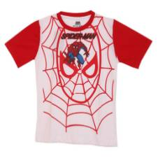 SPIDER-MAN BOYS R-NECK SHORT SLV T-SHIRT