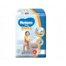 Huggies Dry ডায়াপার প্যান্ট (L) 9-14kg 50pc - মালয়েশিয়া