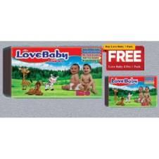 Love Baby Diaper XL (11-25) 48pcs + 4pcs Bangladesh