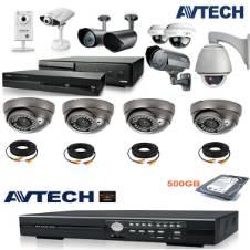 Avtech CCTV ক্যামেরা - 8 Pcs