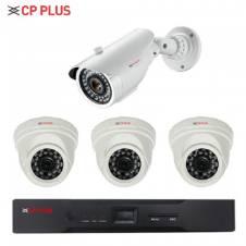 CP-PLUS CCTV Camera - 4 Pcs