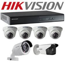 Hikvision CCTV ক্যামেরা - 8 Pcs