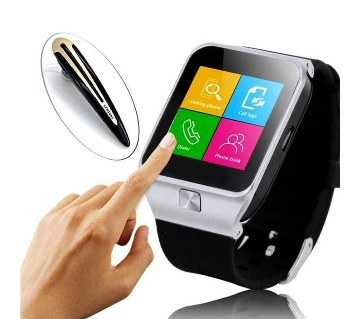 DZ9 Smart Watch - Sim Supported - Bluetooth headset free