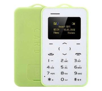 AEKU C6 Mini Card Mobile