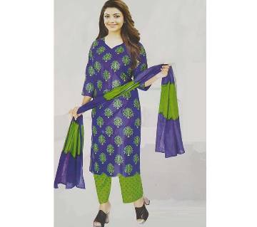 Unstitched long salwar kameez