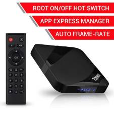 TX3 MAX Android 7.1.2 4K 3D H.265 TV Box with BT 4.0/Amlogic Quad-Core S905W 64 Bits CPU/2GB RAM 16G