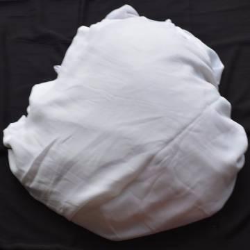 ইন্ডিয়ান ওয়েটলেস জর্জেট (১ গজ) - সাদা