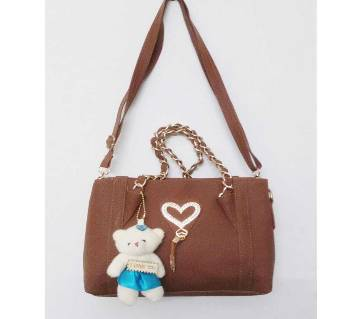 Artificial Leather Ladies Hand Bag