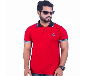 Half Sleeve Cotton Polo T-Shirt for Men