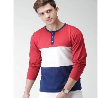 Gents Full Sleeve Cotton T-Shirt