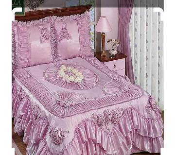cotton semi double size bed sheet