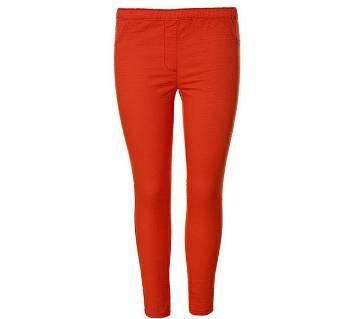 LadiesTwill Leggings (WKJ-1-OR)