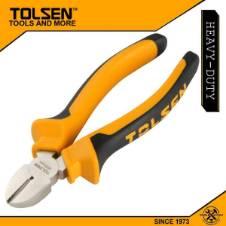 "Tolsen Diagonal Cutting Pliers (6"") 10003 TPR Handle"