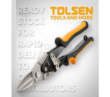 "Tolsen Aviation Snips 10"" (Straight) 30022"