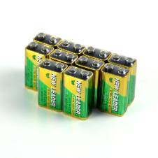 New Leader Battery 9V - 10 Pcs