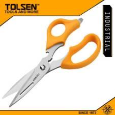 Tolsen Heavy Duty Multi-Purpose Scissors Non-Slip Handle 30049