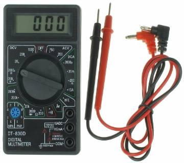 Digital Multimeter DT830D-Black