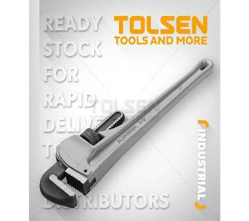 "Tolsen Pipe Wrench, 14""/10223"