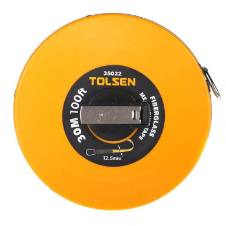 Tolsen Fibreglass Measuring Tape - 30M/100ft