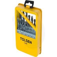 Tolsen 19 Pcs HSS Twist Drill Bits Set