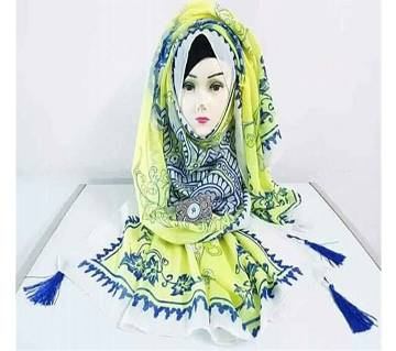 Hijab For Women Printed Soft Silk Orna