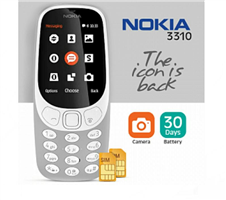 Nokia 3310 Feature Phone (2017) White - Vietnam