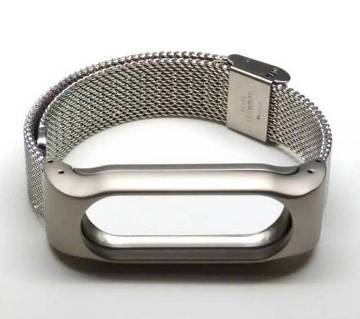 Mi Band 2 Metal Case - Silver