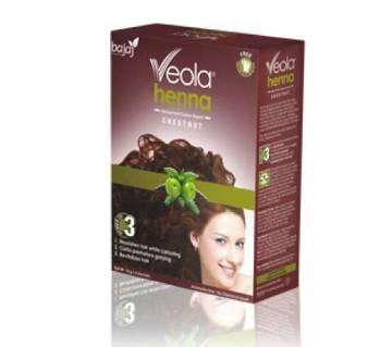 Bajaj Veola Chestnut Hair Color 60 gm (6 pieces) INDIA