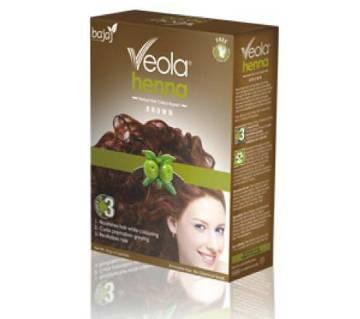 Bajaj Veola Brown Hair Color 60 gm (6 pieces) INDIA