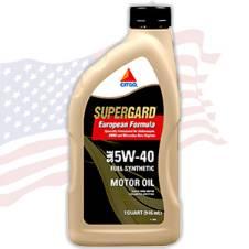 SAE 5W-40 CITGO SuperGard API SN, 0.946ML