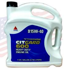 SAE 15W-40 CITGO CitGard 600 API CJ4, 3.785LTR