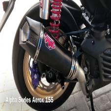 R9 alpha racing exhaust