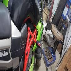 Crash guard for yamaha Fzs