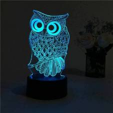 Creative 3D LED Table Lamp