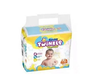 Twinkle Baby Diaper XXL  18pc