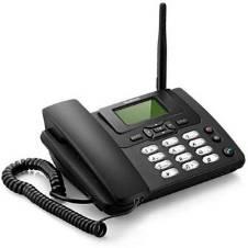 3125i GSM Corded টেলিফোন- Black