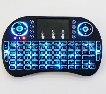 Wireless Backlit Mini Keyboard with Touch Pad