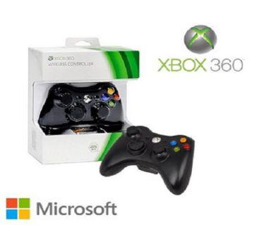 Microsoft Wireless Controller Xbox 360  Black
