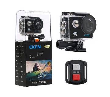 EKEN H9R - 4K Wifi Action Camera with Remote - Black