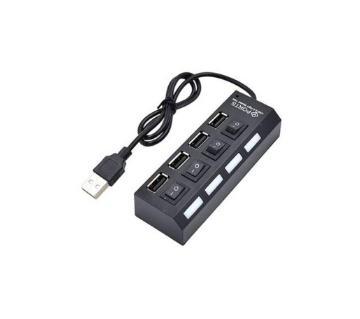4 Port Usb 2.0 Hub individual power switch