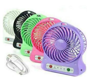 Rechargeable USB fan and power bank 1 piece