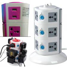 multiplug with usb plug