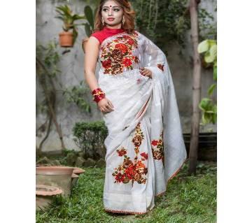 সিল্ক জামদানি শাড়ি