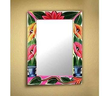 rickshaw theme wall mirror