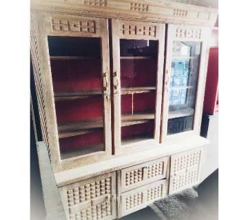 চিটাগং সেগুন কাঠের বিসকিট ডিজাইনের শো-কেস