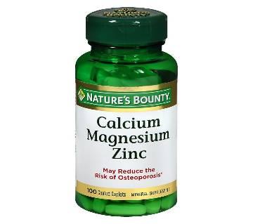 Calcium, magnesium,zinc 100 tablets