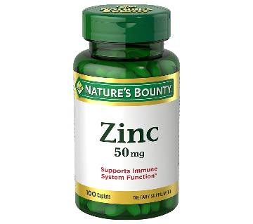 Zinc 50mg 100 tablets
