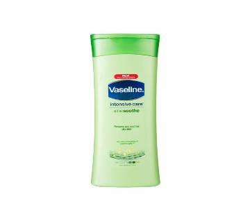 Vaseline Intensive Care Aloe Soothe লোশন 400ml - UK