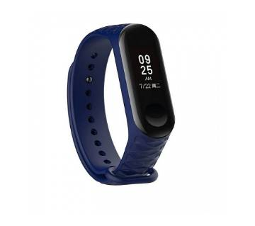 Mi Band 3 Replacement Silicone Strap - Deep Blue