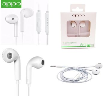 Oppo In-Ear Headphone Earphone For Smartphone - Black